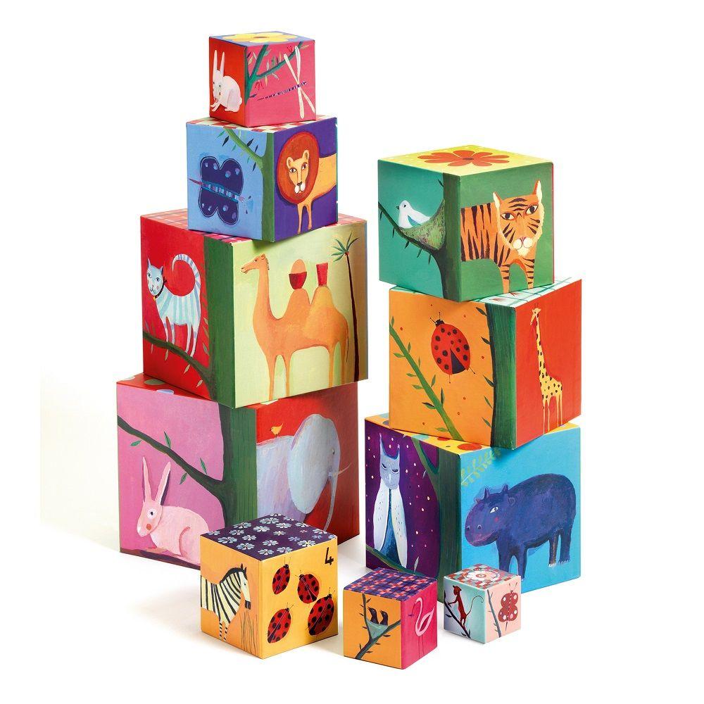 Djeco Nature and Animal Blocks