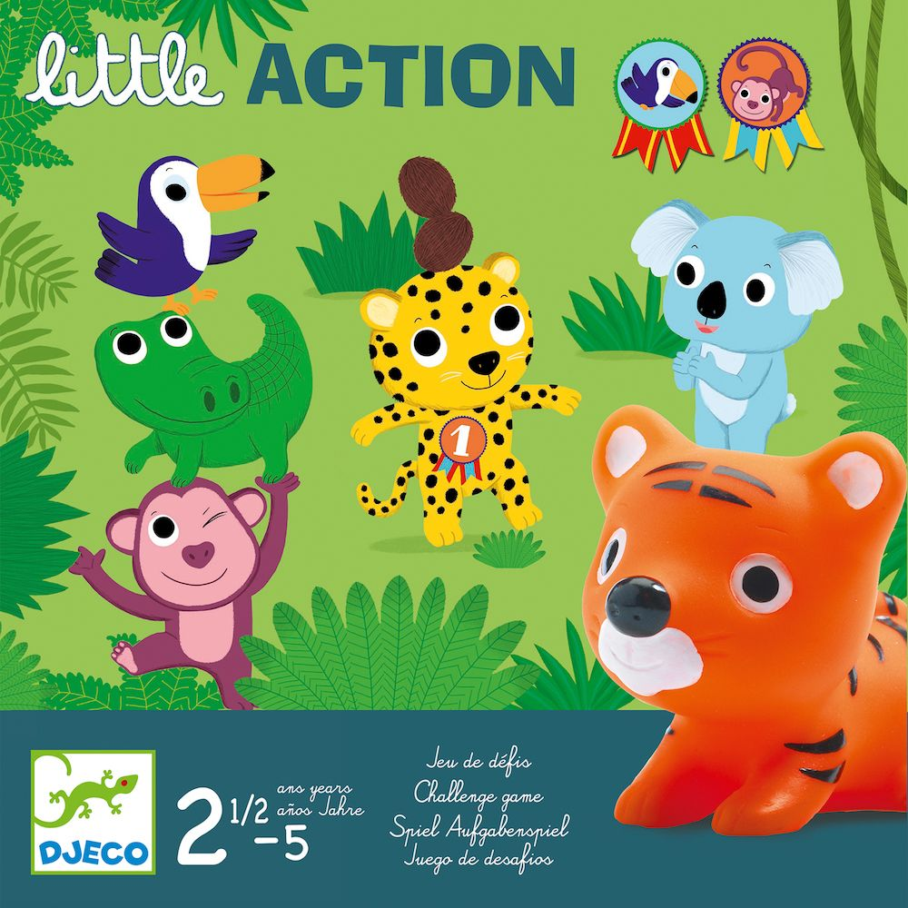 Toddler Games - Djeco Little Action
