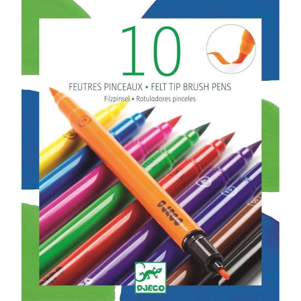 Djeco Felt Tips 10 Classic Colours