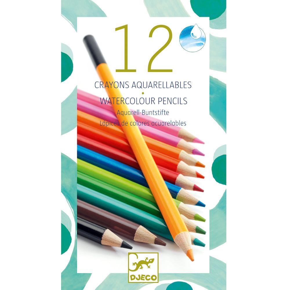Djeco Watercolour Pencils Classic