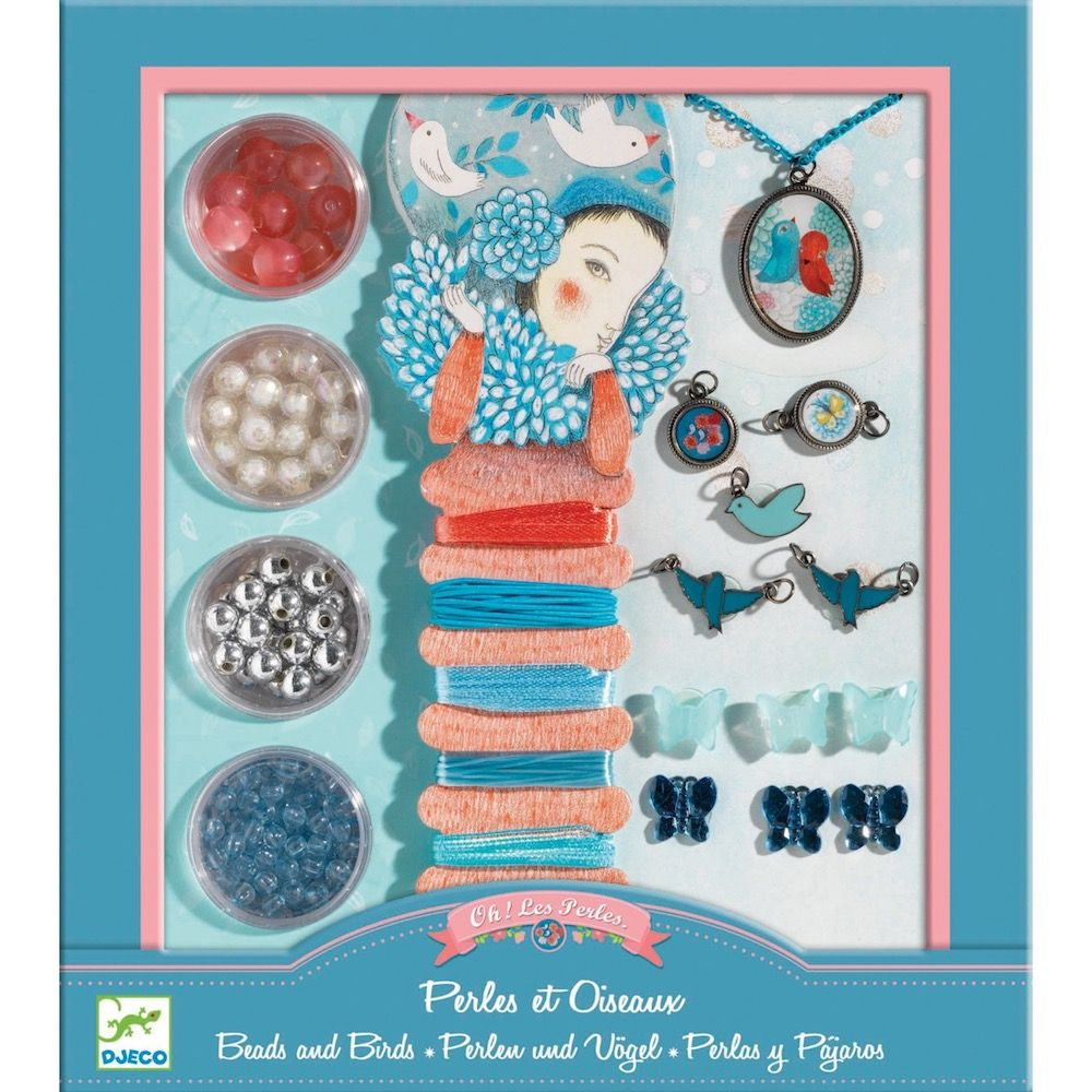 Djeco Jewellery Kit Beads and Birds