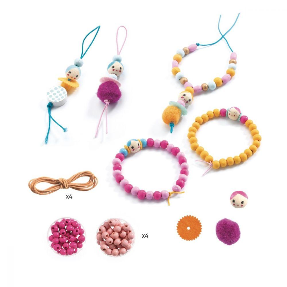Djeco Jewellery Kit Beads and Figurines