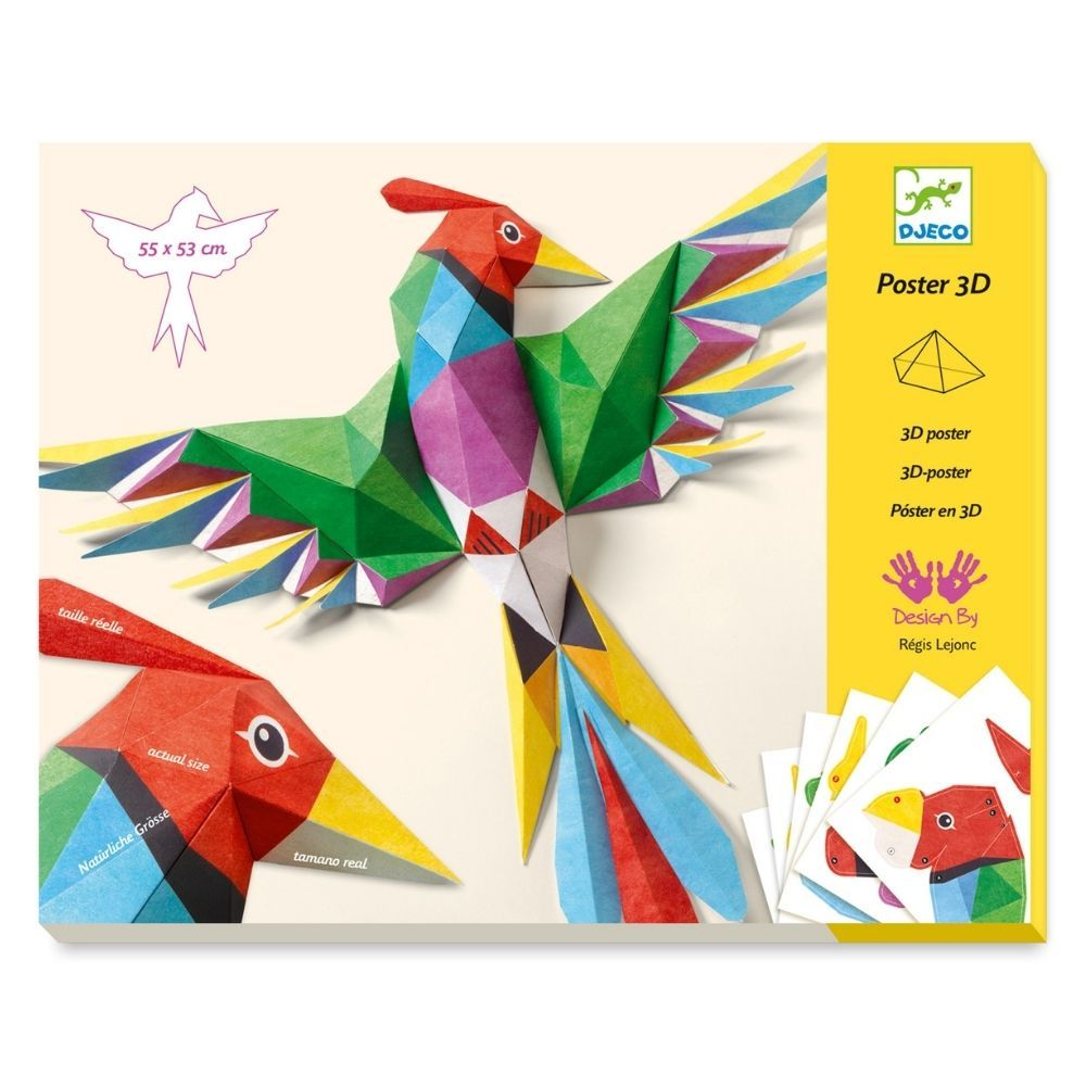 Djeco 3D Poster - Amazonie DJ09448