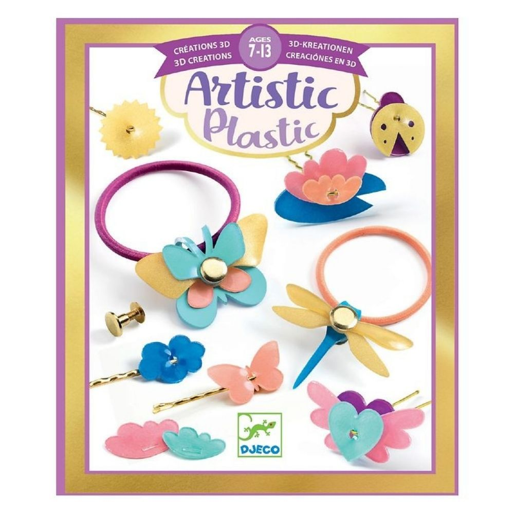 Djeco Artistic Magic Plastic - Hairstyling Accessories DJ09498