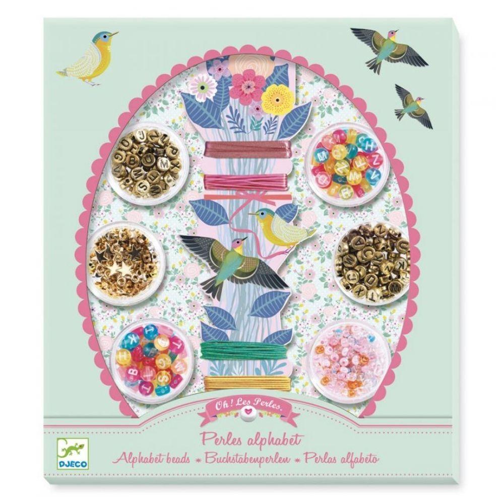 Djeco Beads & Jewellery - Alphabet Beads DJ09839