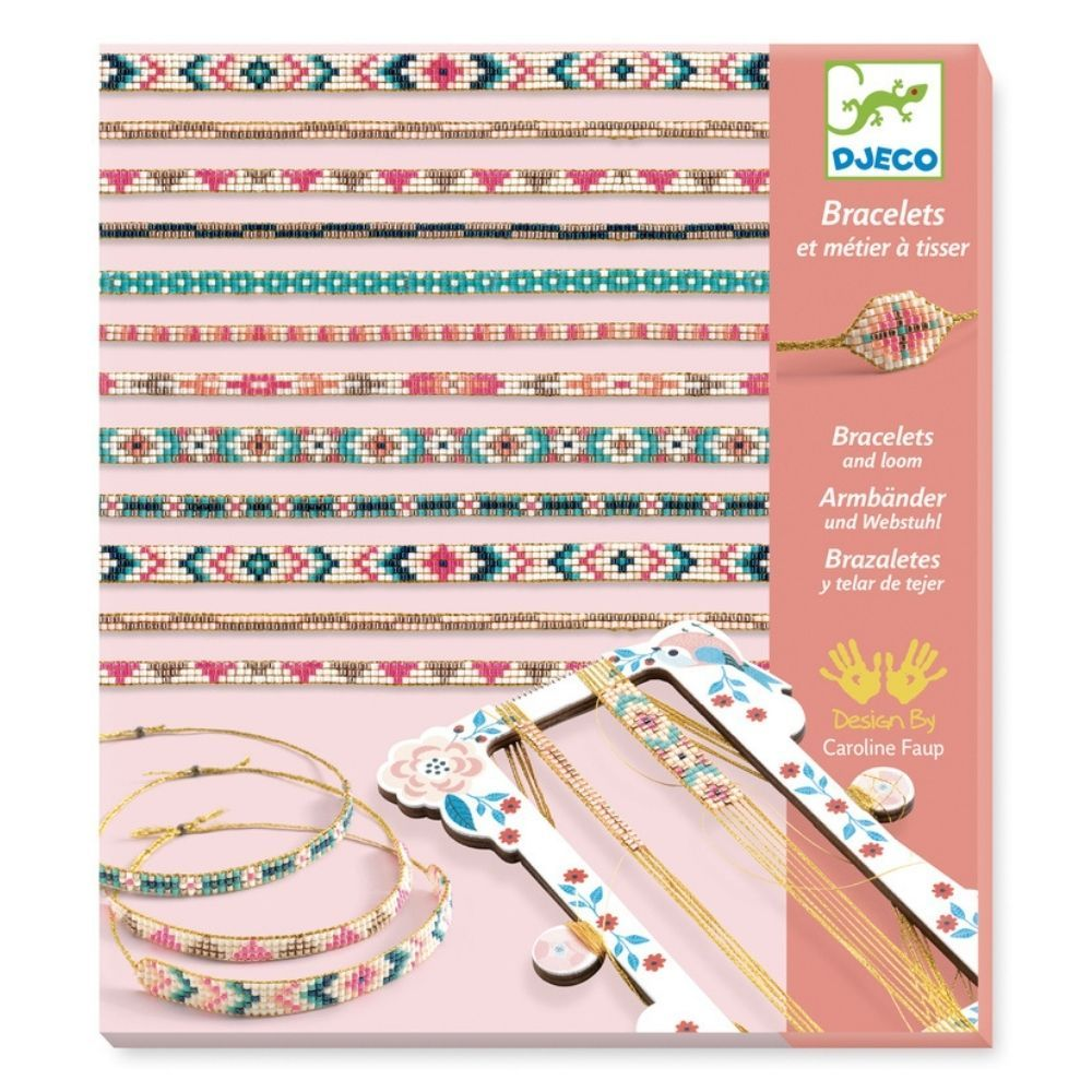 Djeco Bracelets and Loom - Tiny Beads DJ09838