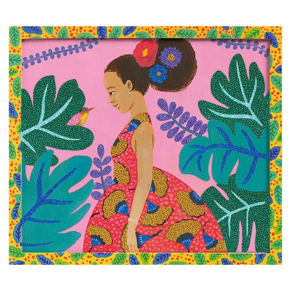 Djeco Collages Artistic Beads - Around the World