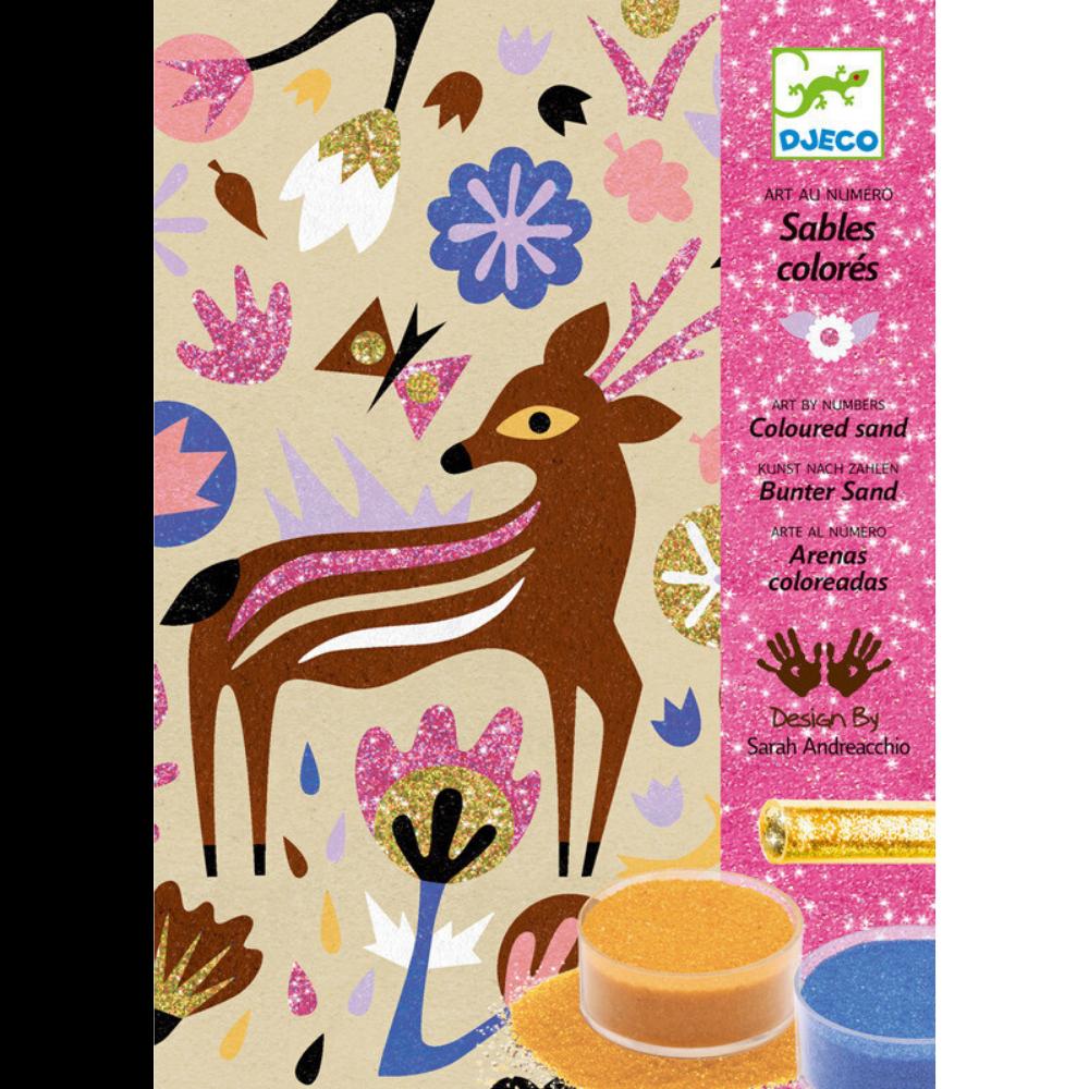 Djeco Coloured Sands Woodland Wonderland
