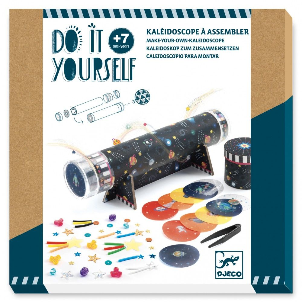 Djeco Do It Yourself Make Your Own Kaleidoscope - Space Immersion