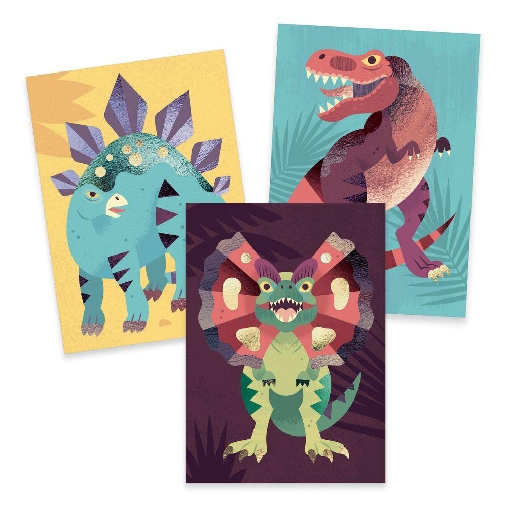 Djeco Foil Art - Jurassic