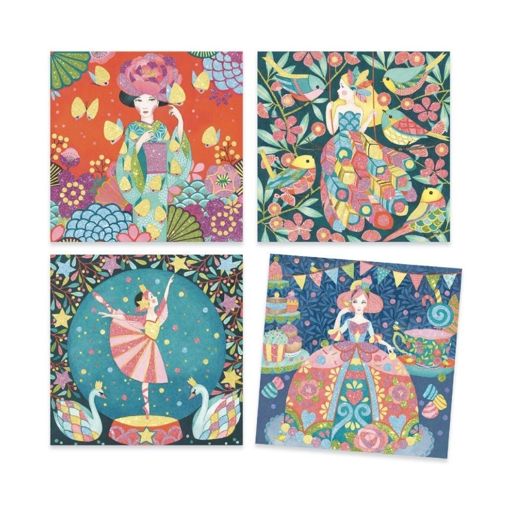 Djeco Glitter Pictures - Daydream