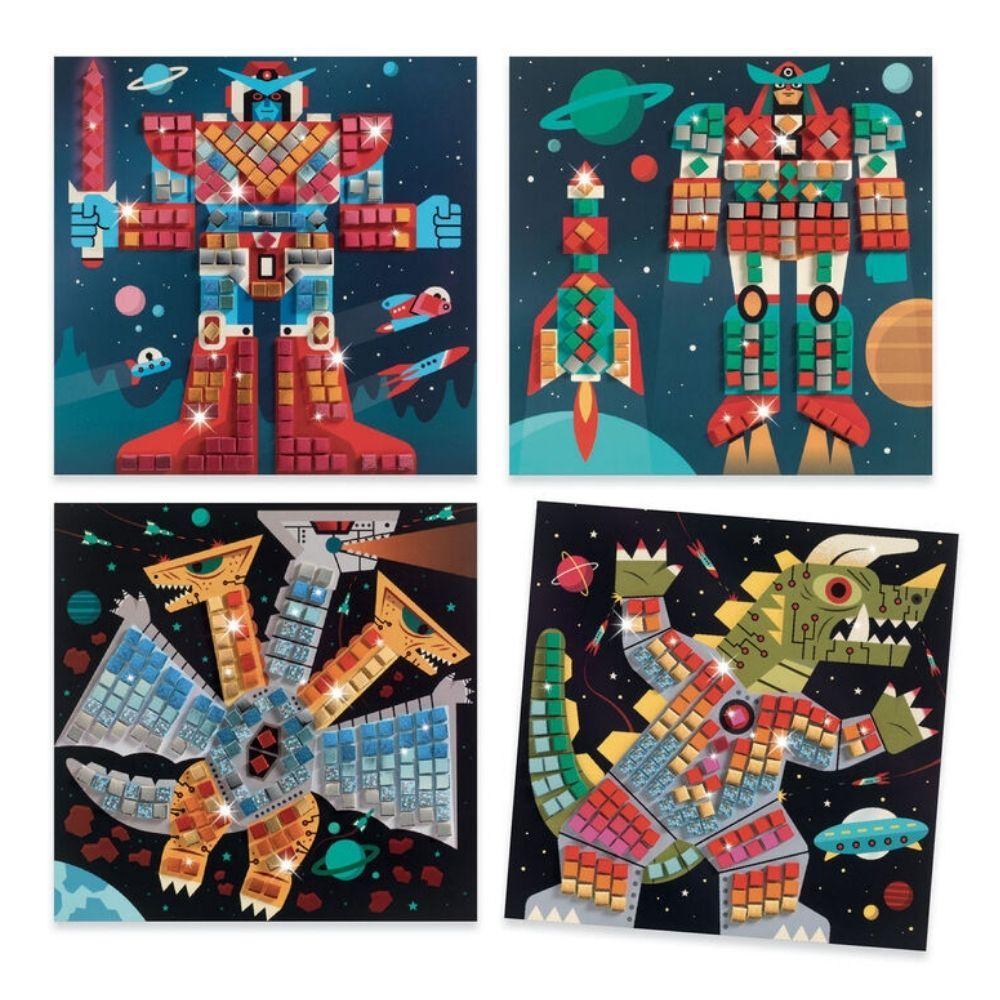 Djeco Mosaics - Space Battle