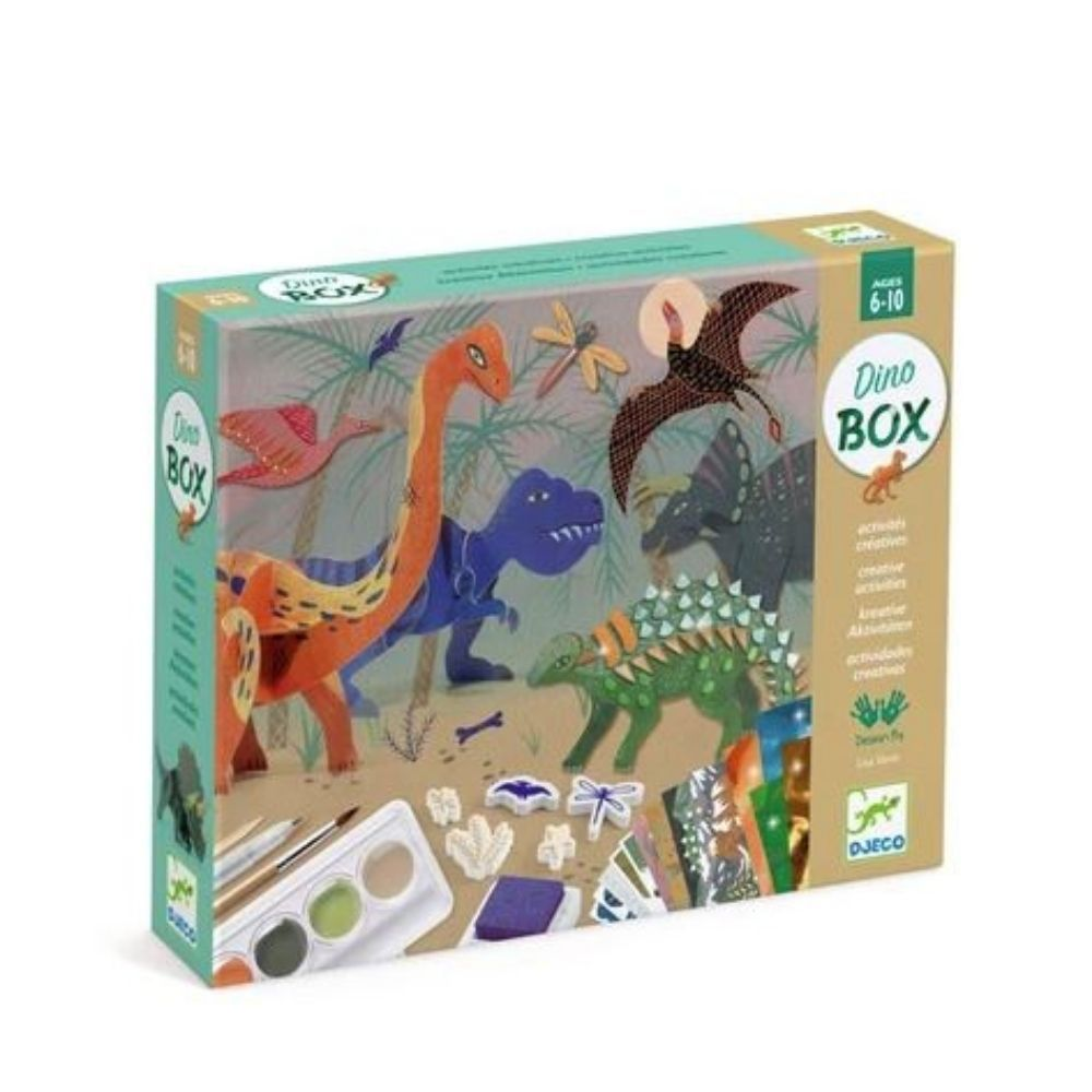 Djeco Multi Activity Kits - The World of Dinosaurs