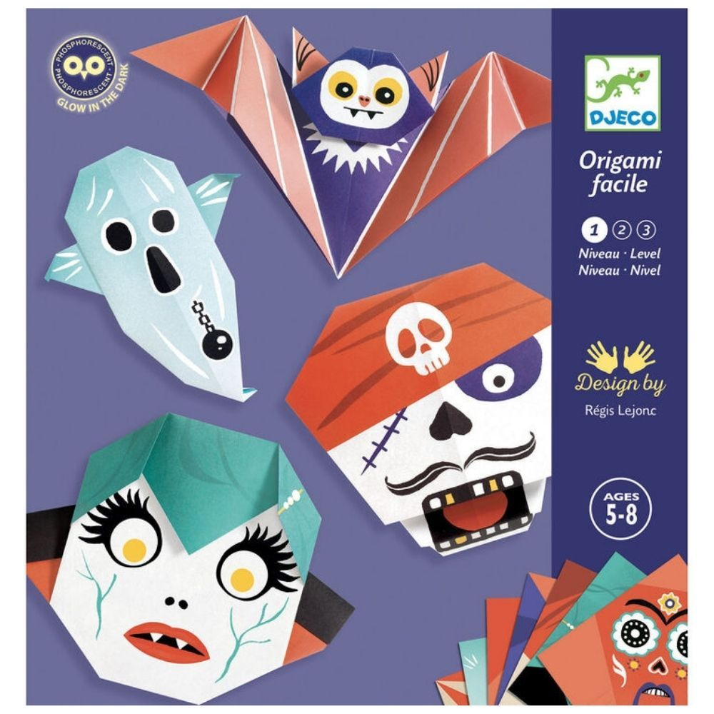 Djeco Origami Shivers paper modelling set DJ08780