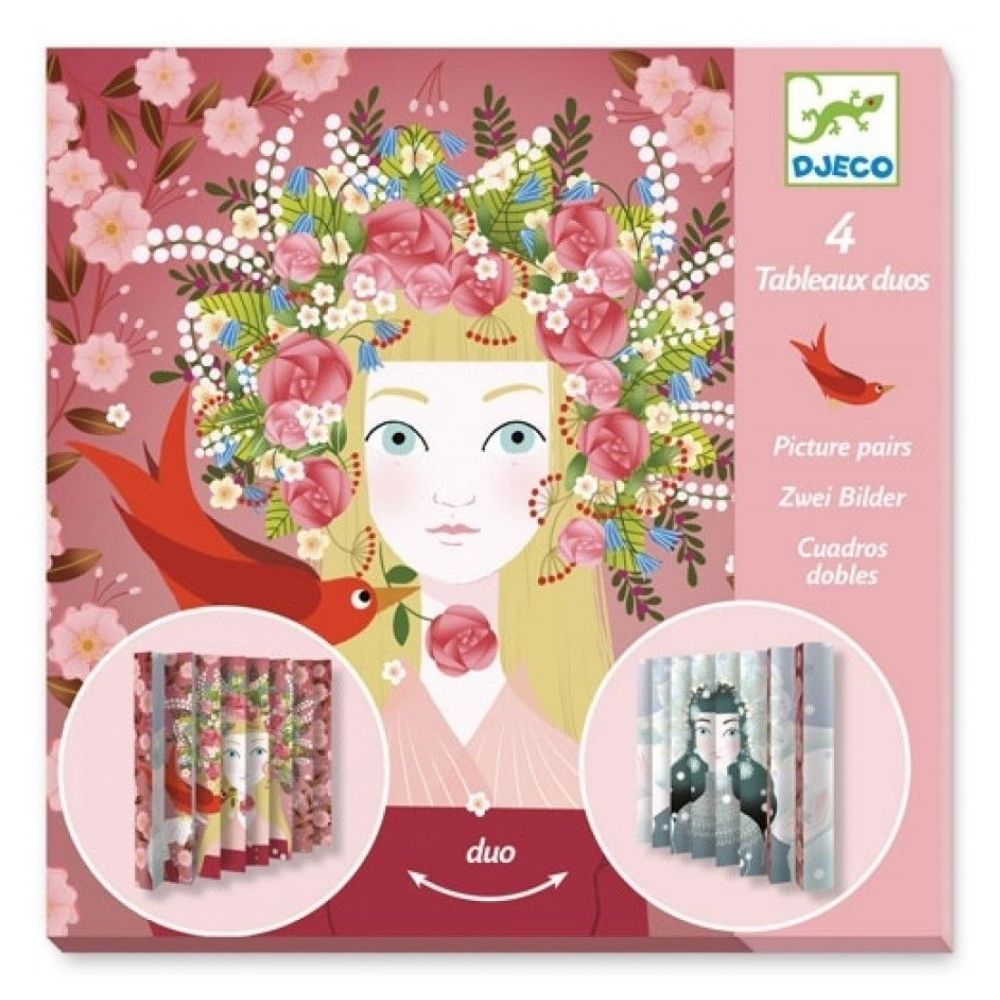 Djeco Paper Creations Picture Pairs- Lovely Queens DJ09446