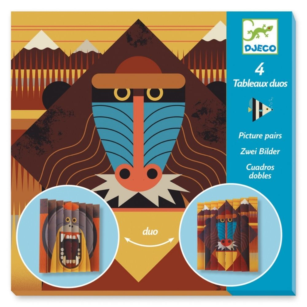 Djeco Paper Creations Picture Pairs - Wildlife DJ09445