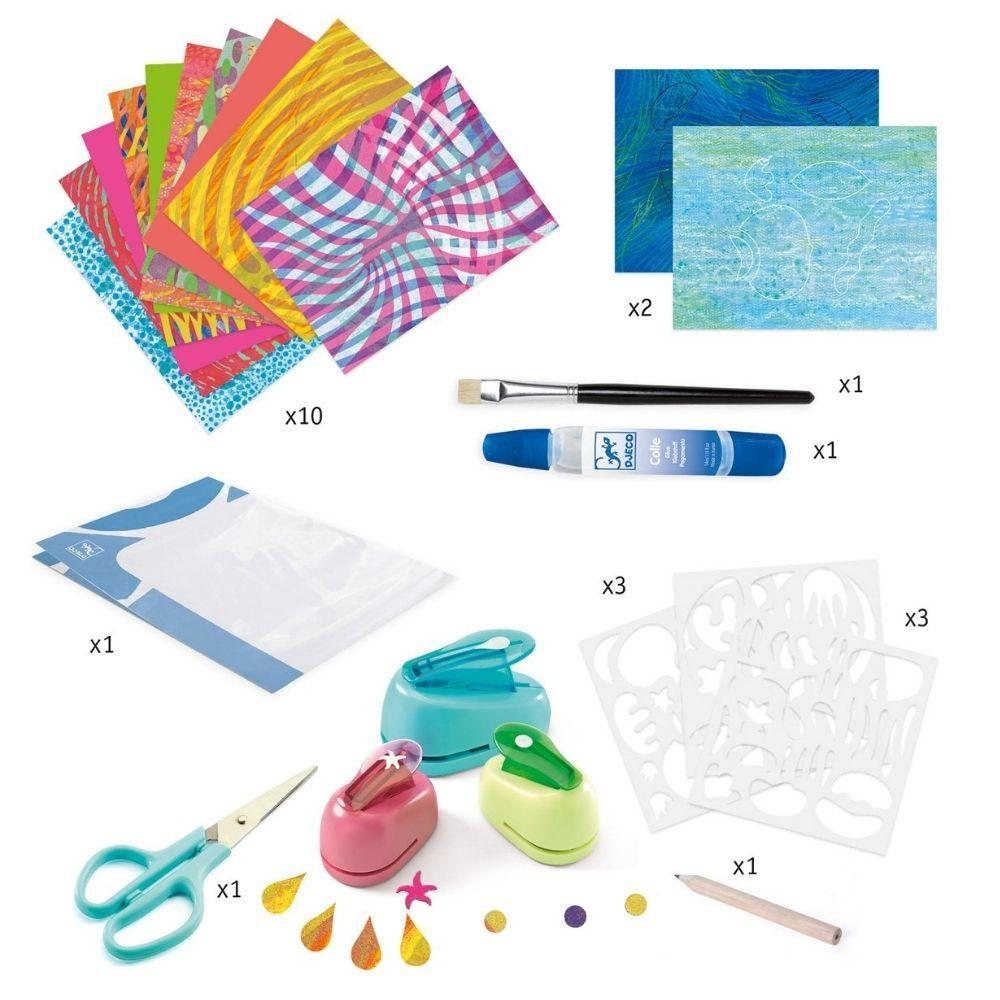 Djeco Paste Workshops - Design with Paper