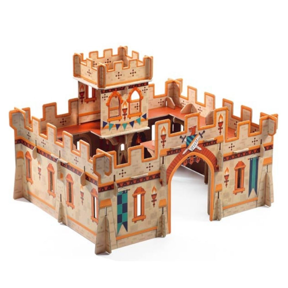 Djeco Pop to Play - Medieval Castle