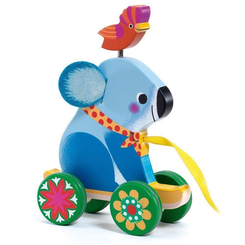 Djeco Pull Along Toy Otto the Koala Bear DJ06245