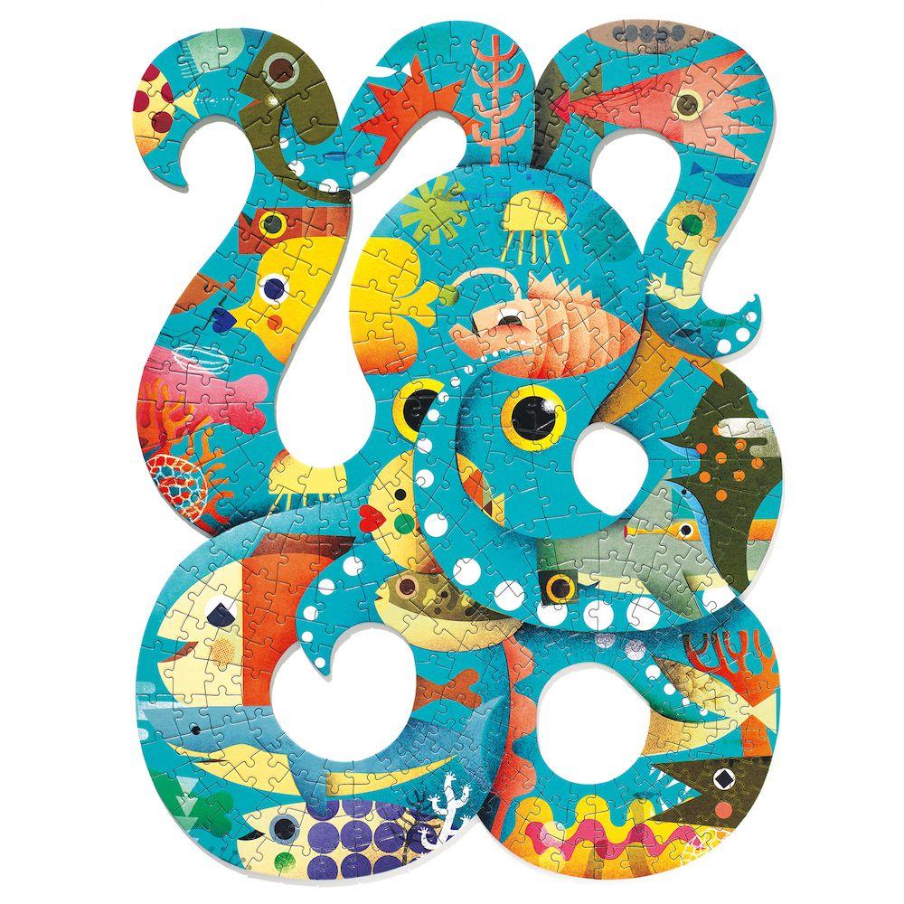 Djeco Puzzle Art - Octopus
