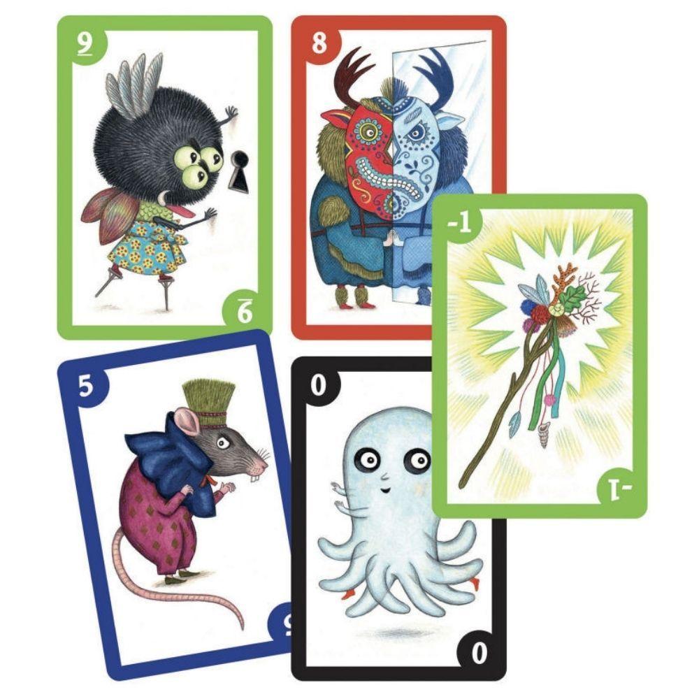 Djeco Spooky Boo! Card Games DJ05098