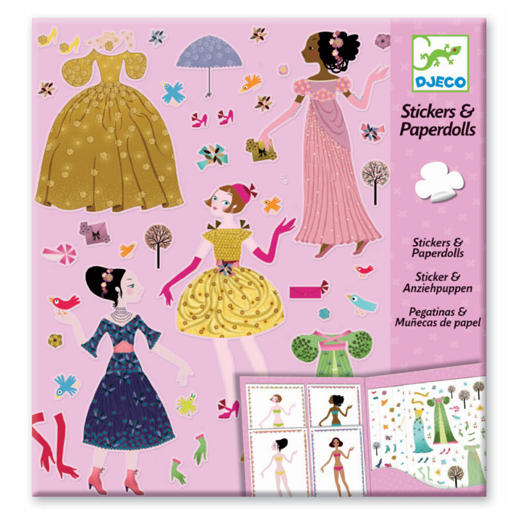 Djeco Sticker Toy Dresses
