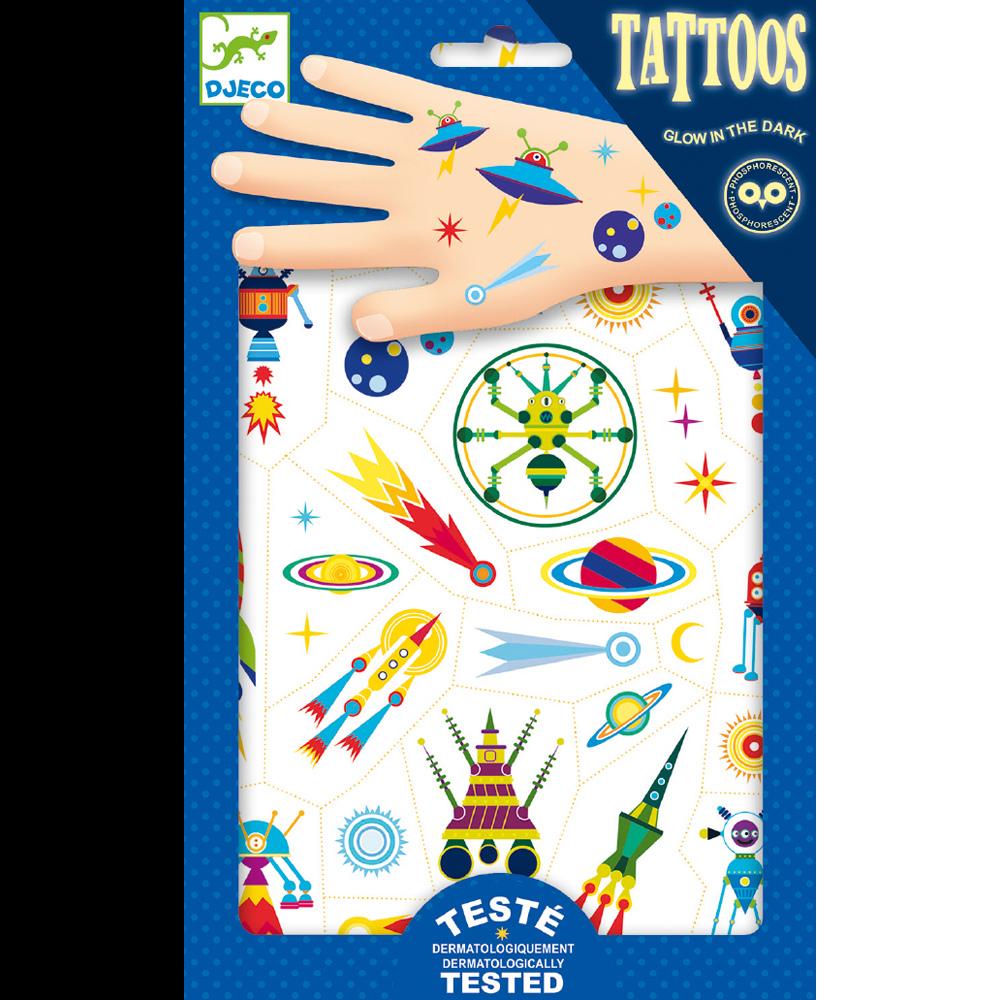 Djeco Tattoos Space Oddity