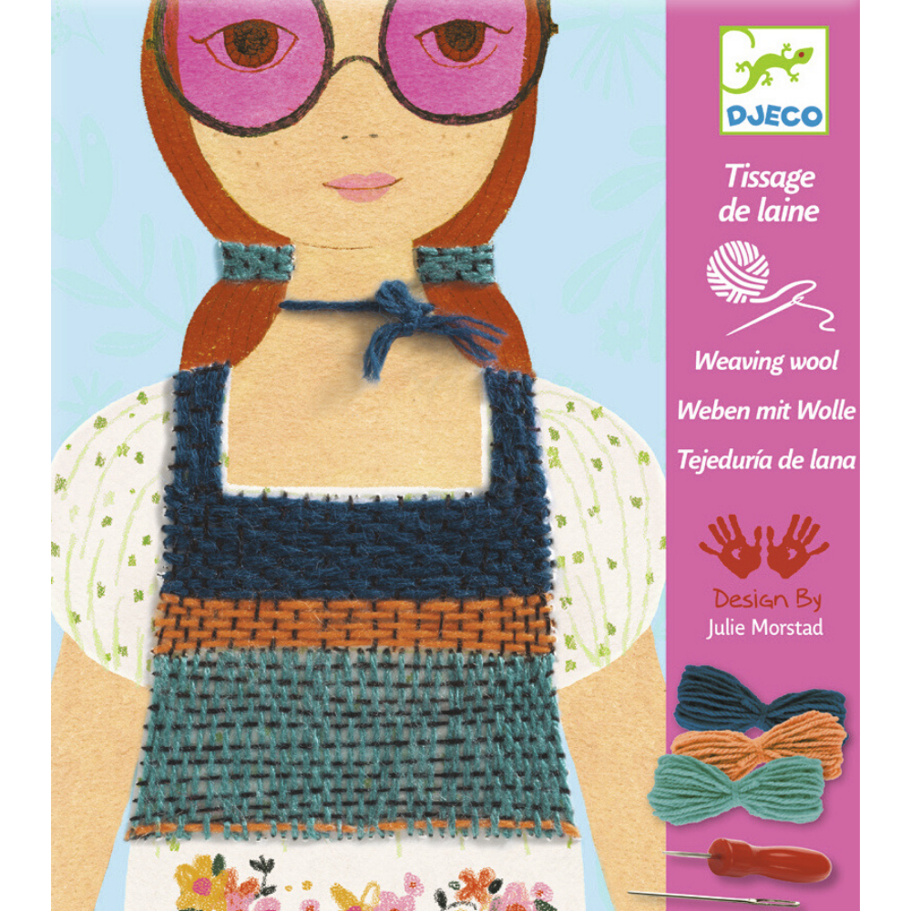 Djeco Weaving with Wool - Rose Coloured Glasses