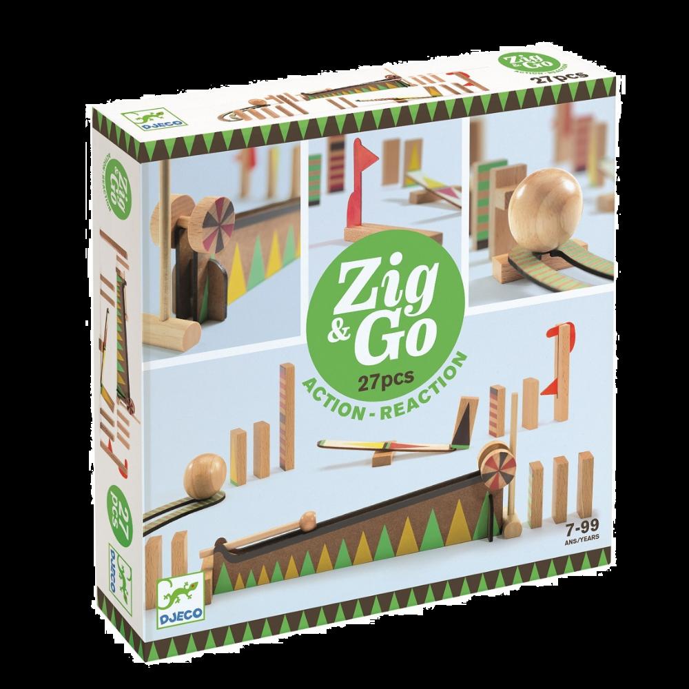 Djeco Zig & Go - 5641 27 pieces