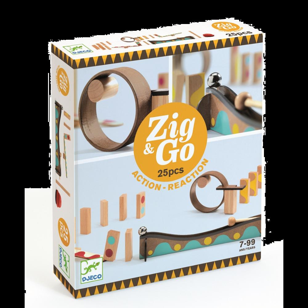 Djeco Zig & Go - 5642 25 pieces