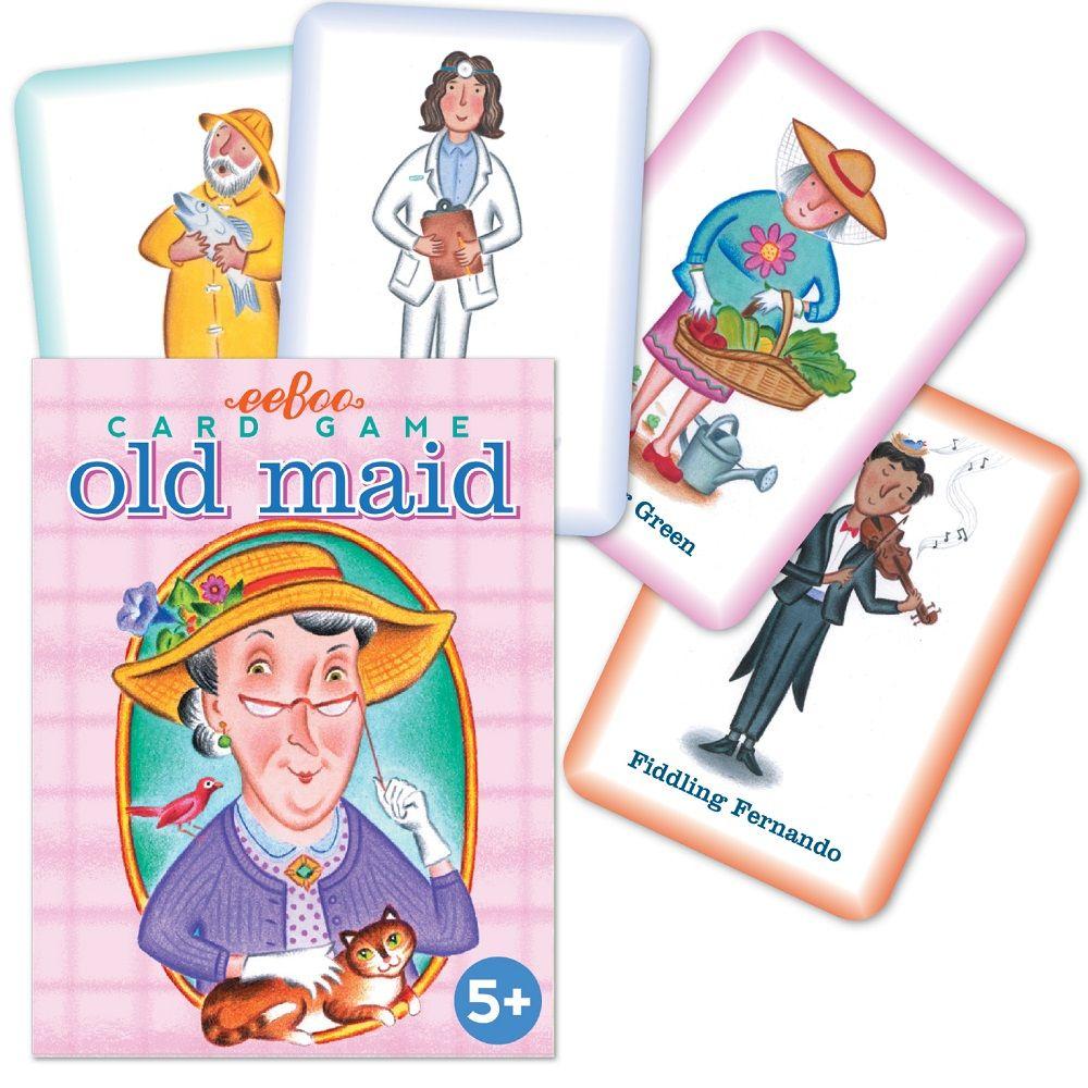 Eeboo Old Maid Card Game