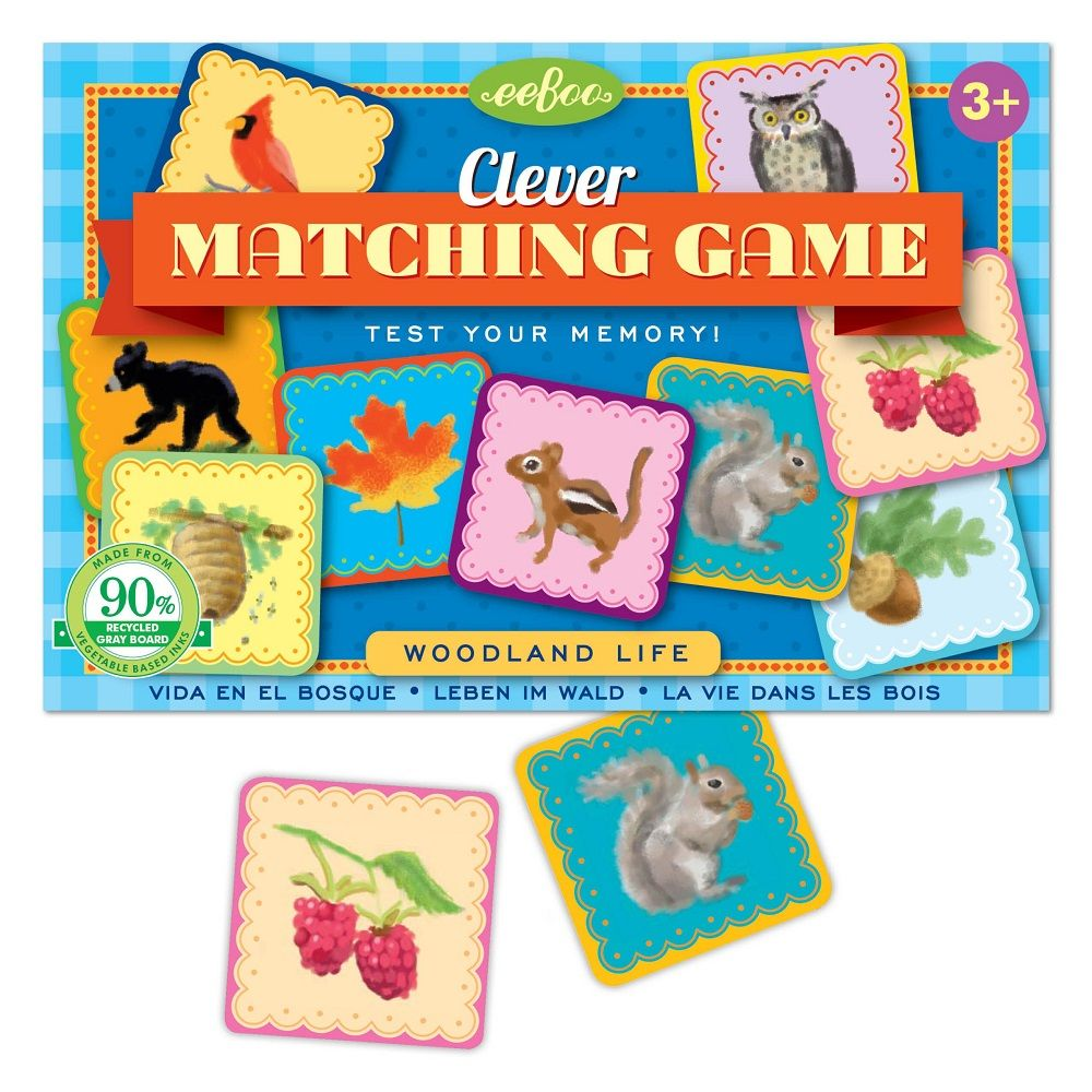 Woodland Life - A Matching Game