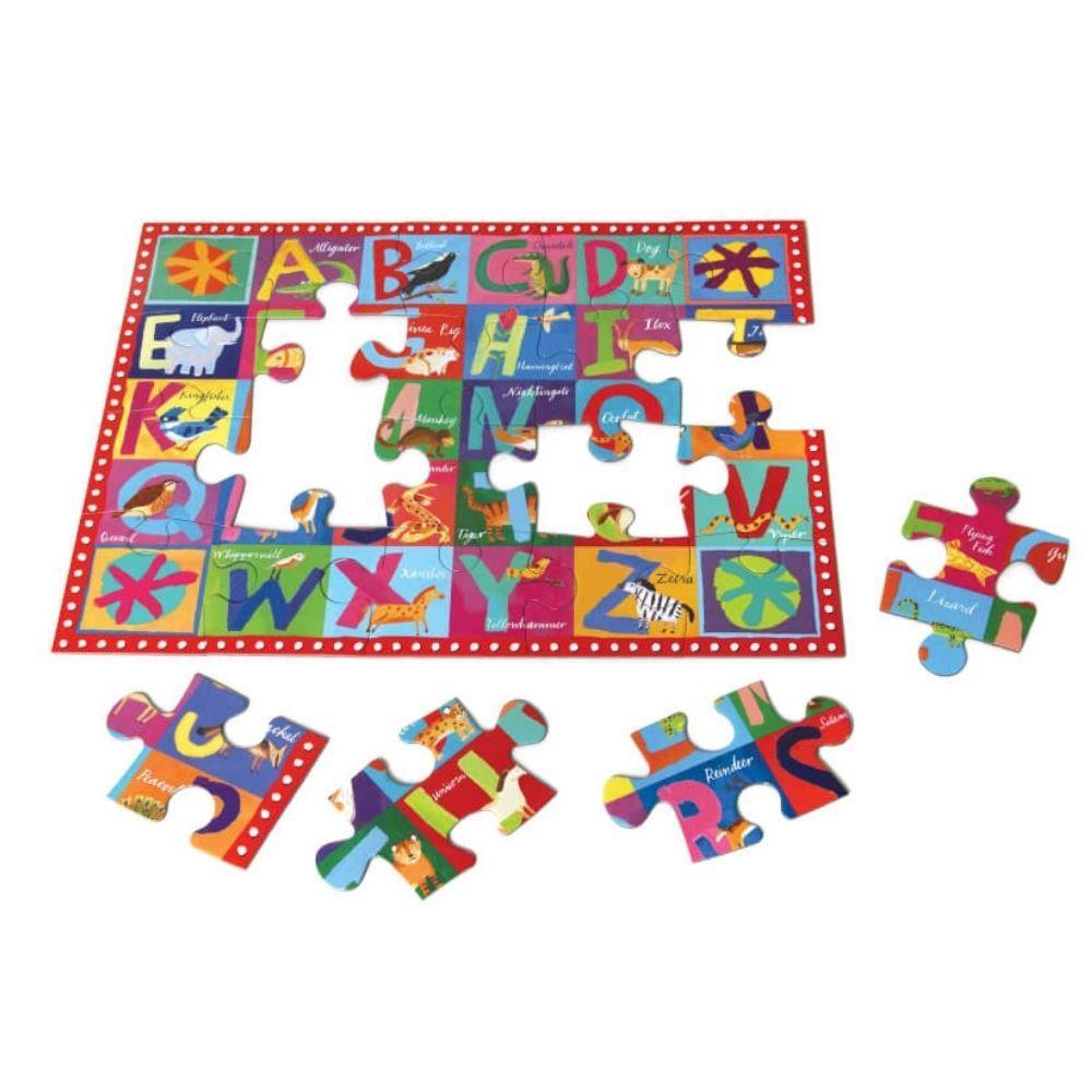 Eeboo Animal Abc 20 Piece Puzzle PZABC