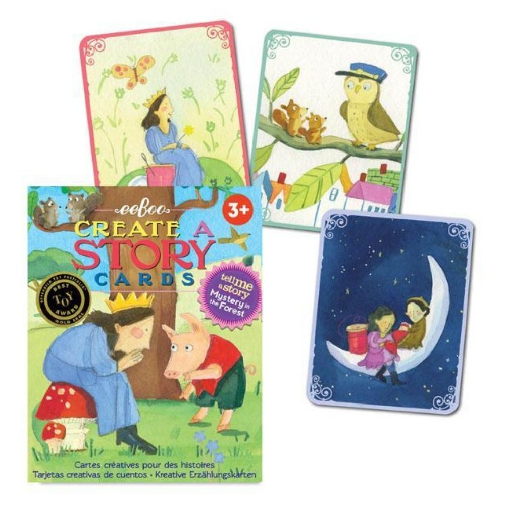 Eeboo Create A Story Cards - Mystery in the Forest TSFOR2