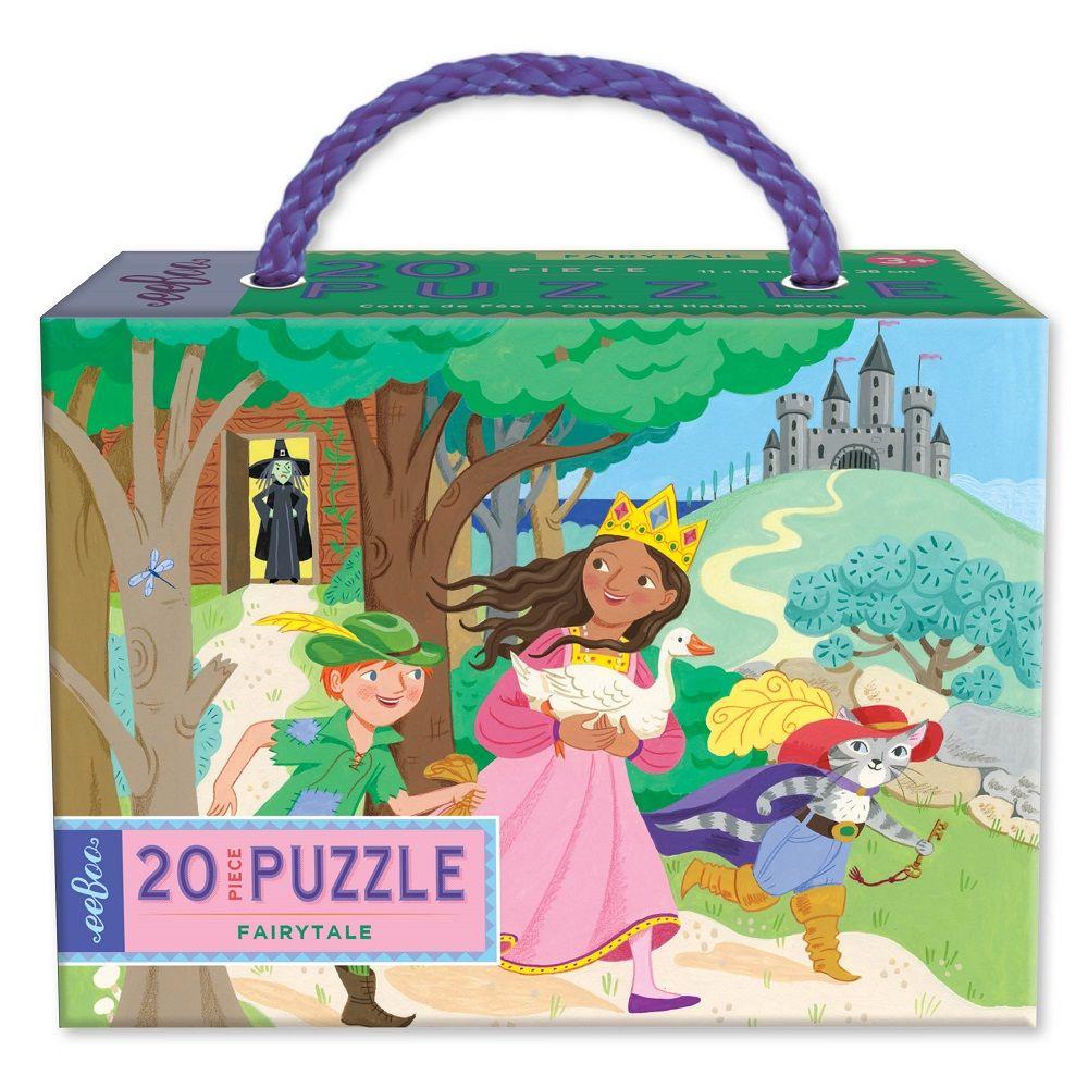 Eeboo Fairytale 20 piece puzzle