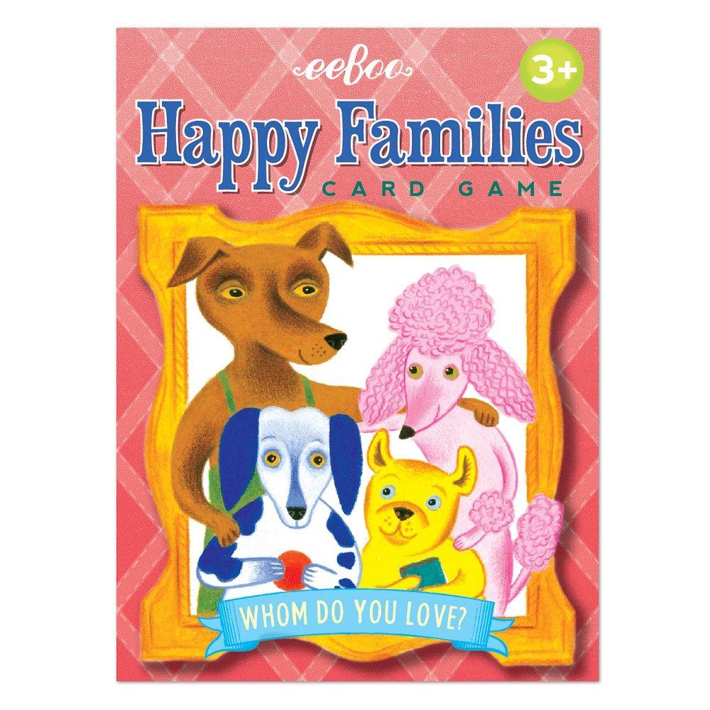 Eeboo Happy Families Card Game