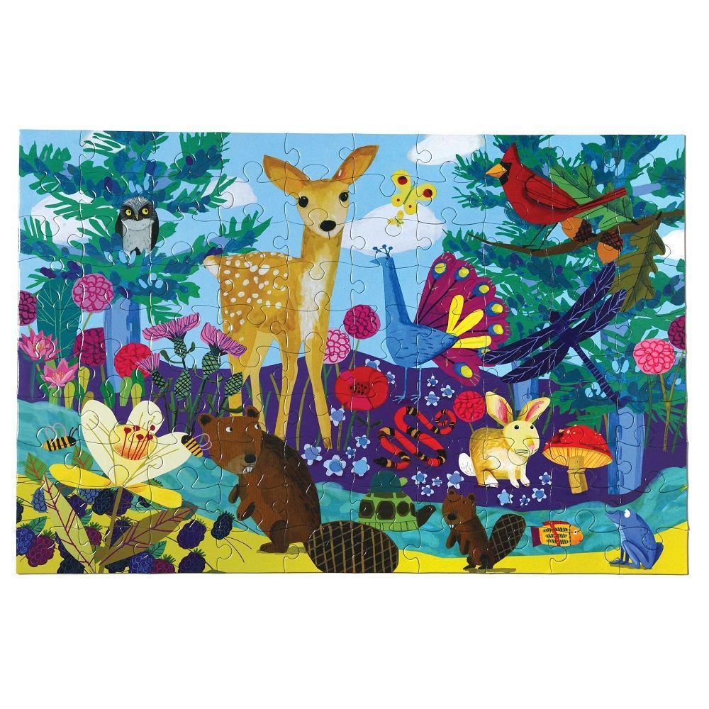 Eeboo Life On Earth 100 piece puzzle