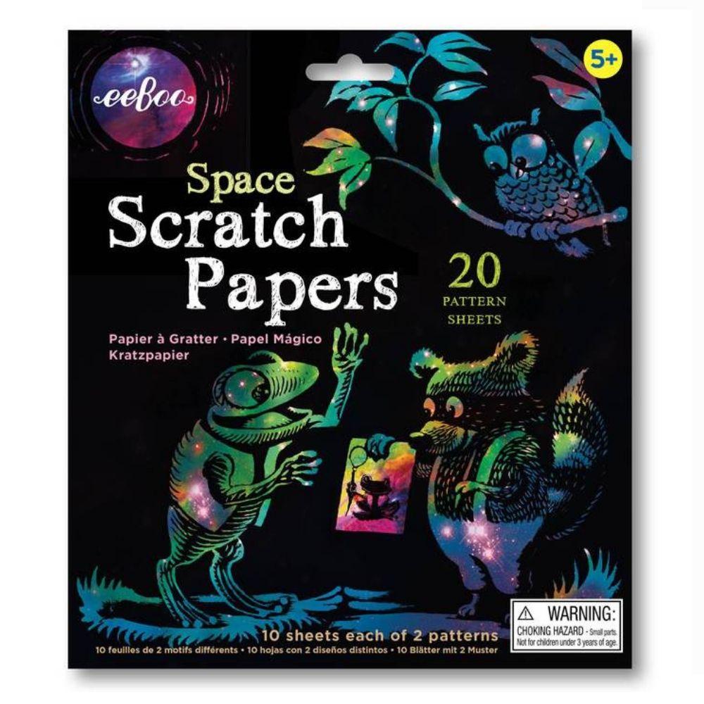 Eeboo Scratch Papers - Space