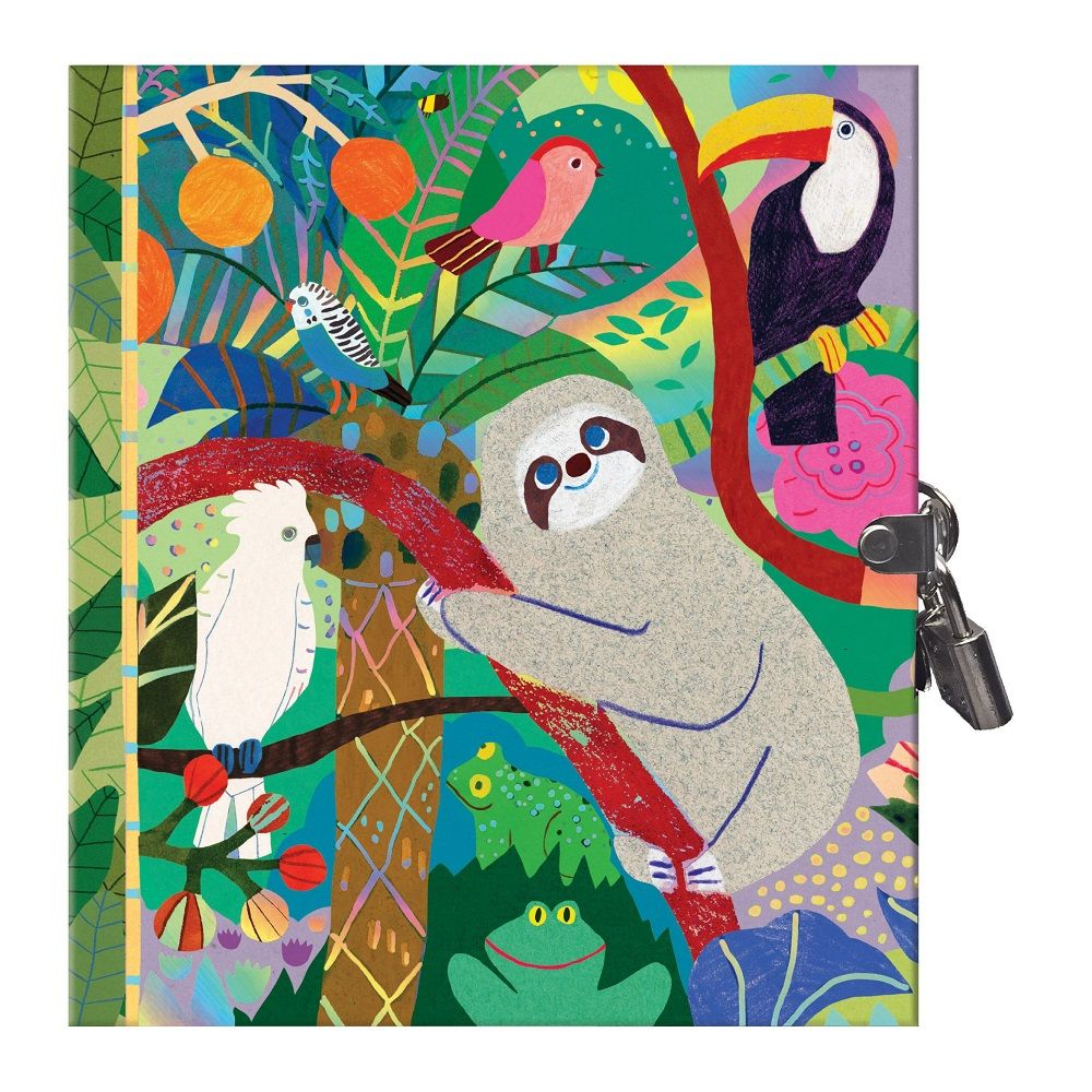 Eeboo Sloths Secret Diary