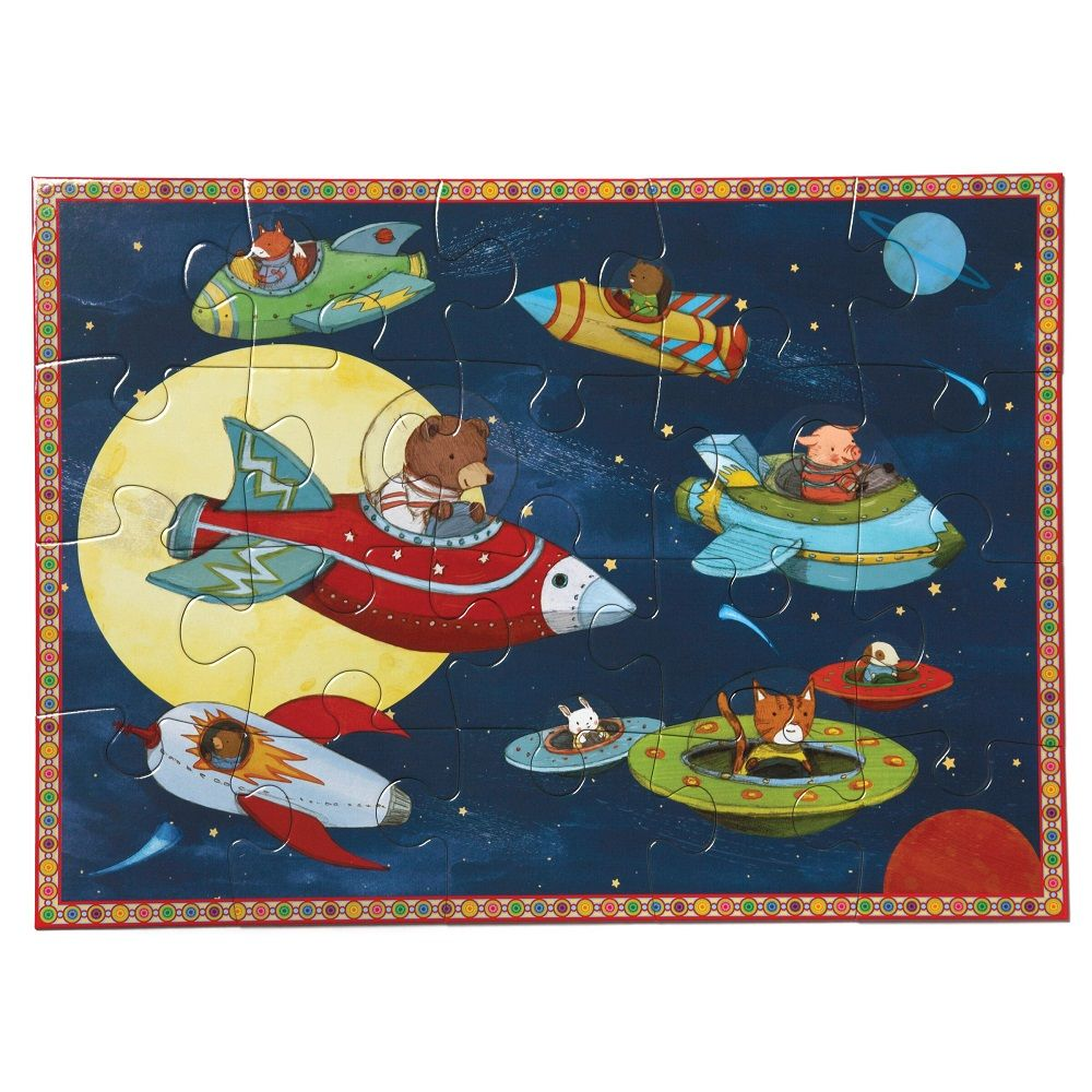 Eeboo Up and Away 20 piece puzzle