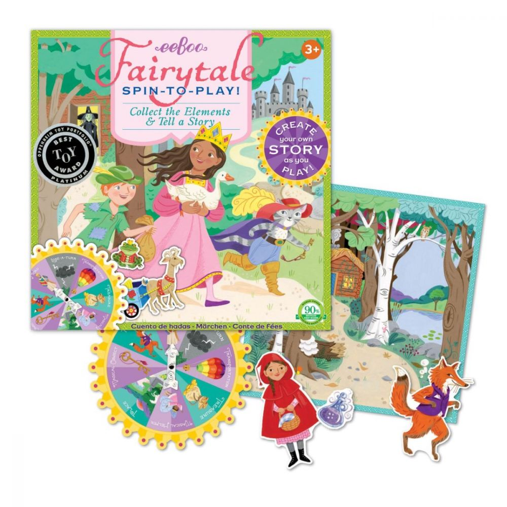 Eeboo Spin To Play - Fairytale