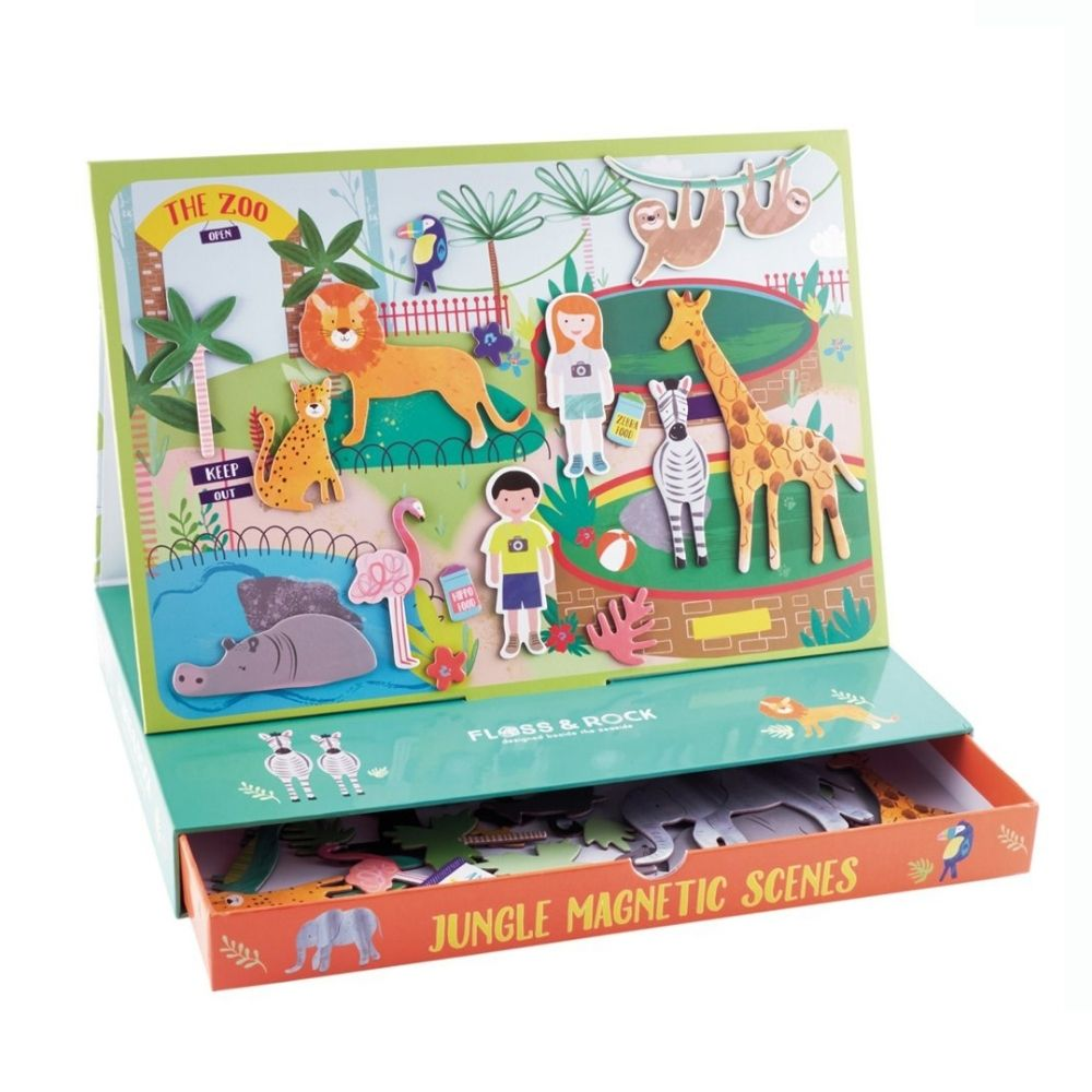 Floss and Rock Magnetic Play Scenes - Jungle
