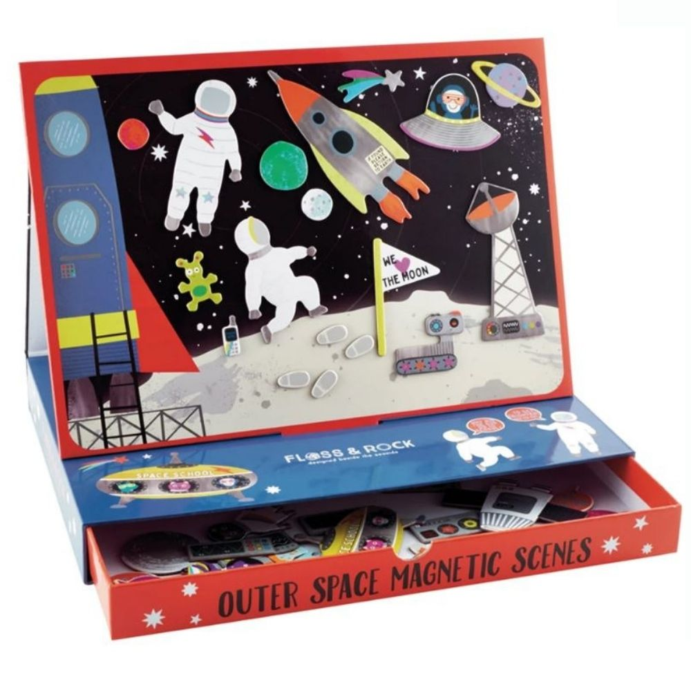 Floss and Rock Magnetic Play Scenes - Outer Space
