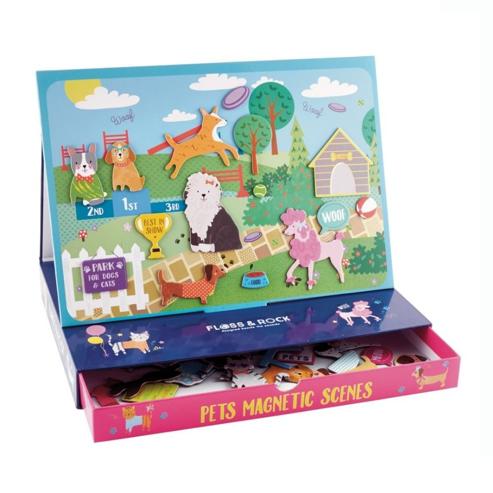 Floss and Rock Magnetic Play Scenes - Pets