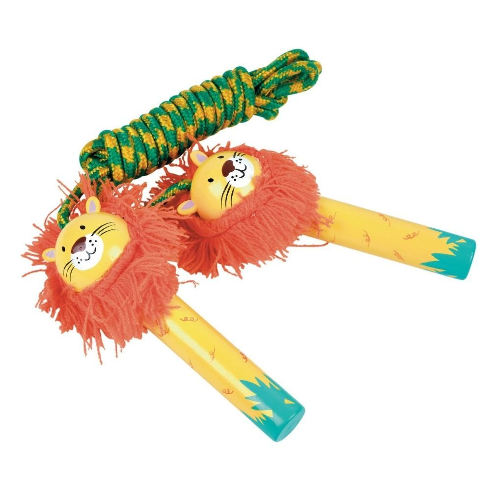Floss and Rock Skipping Rope - Lion