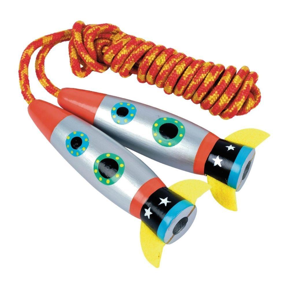 Floss and Rock Skipping Rope - Rocket