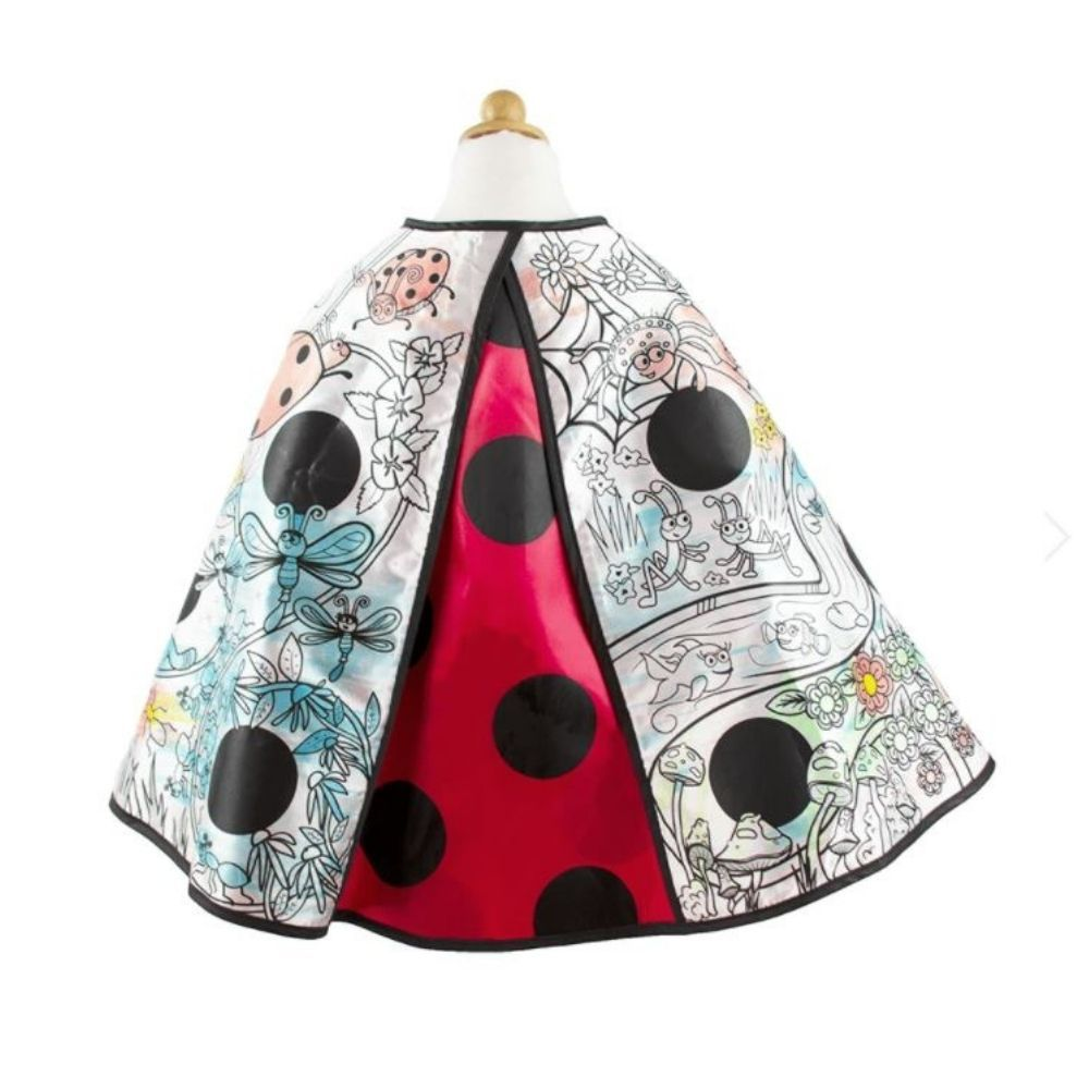 Great Pretenders - Colour A Cape - Ladybug Wings 83032