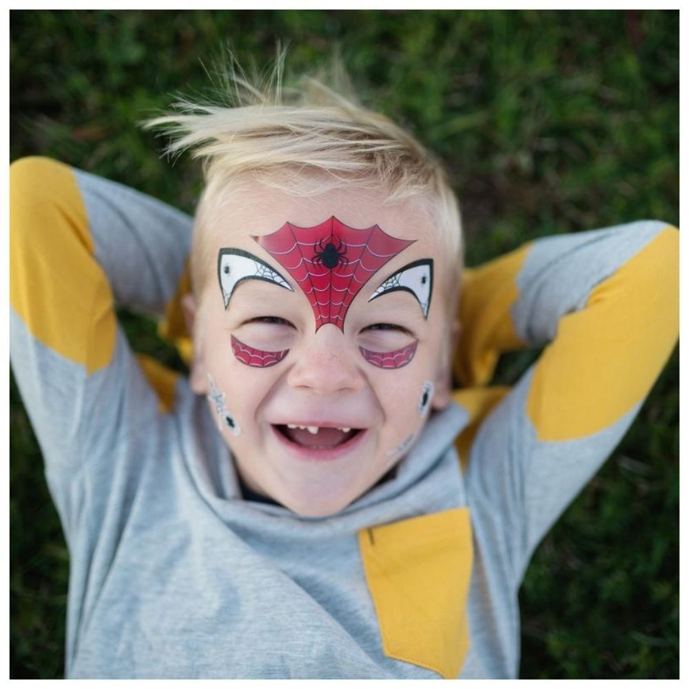 Great Pretenders - Spider Face Stickers 87604