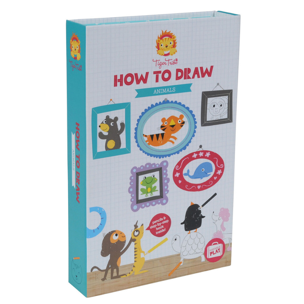 Learn How to Draw - Animals