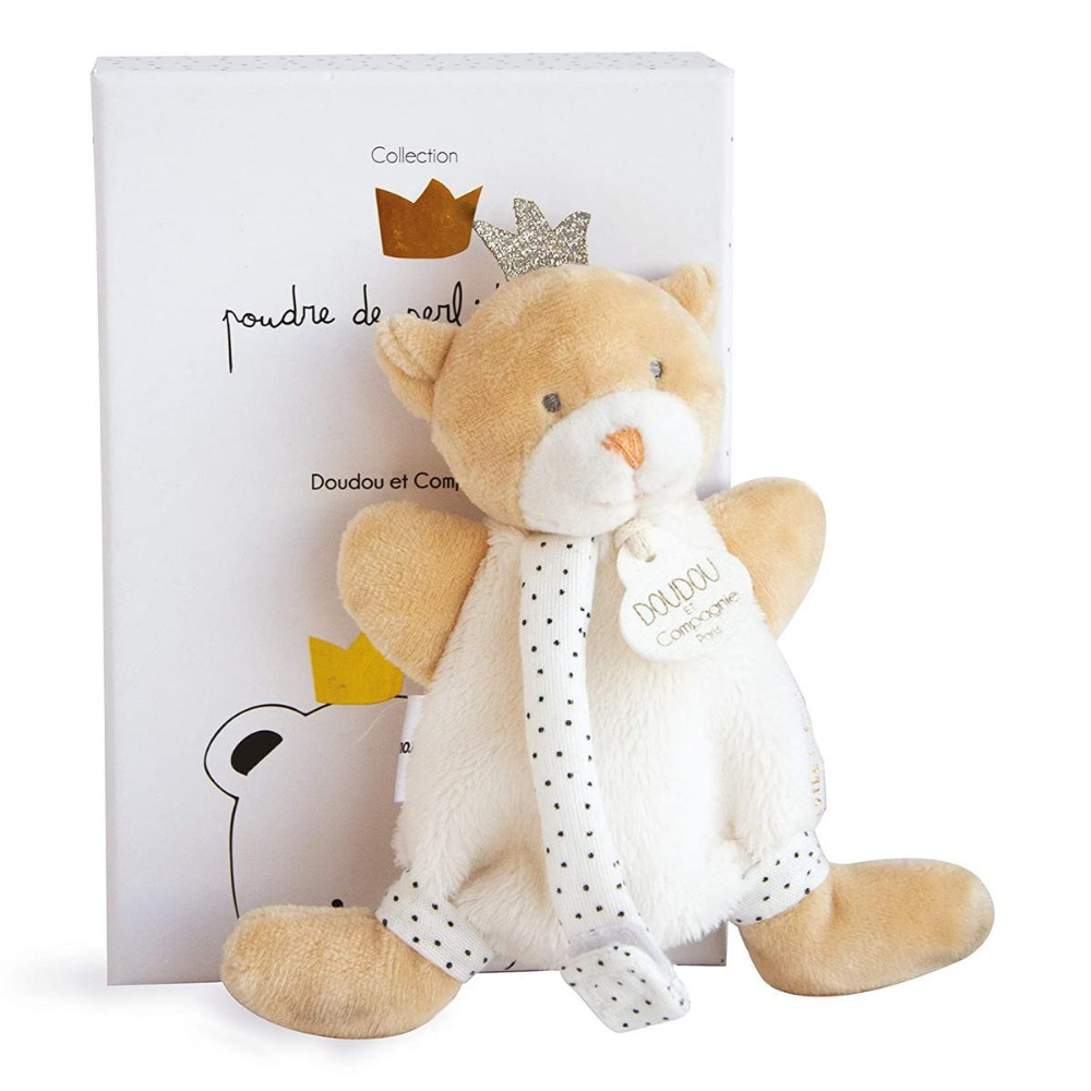 Little King Bear with Soother Attachment